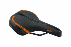 Sattel KLS COMFORTLINE 017, orange