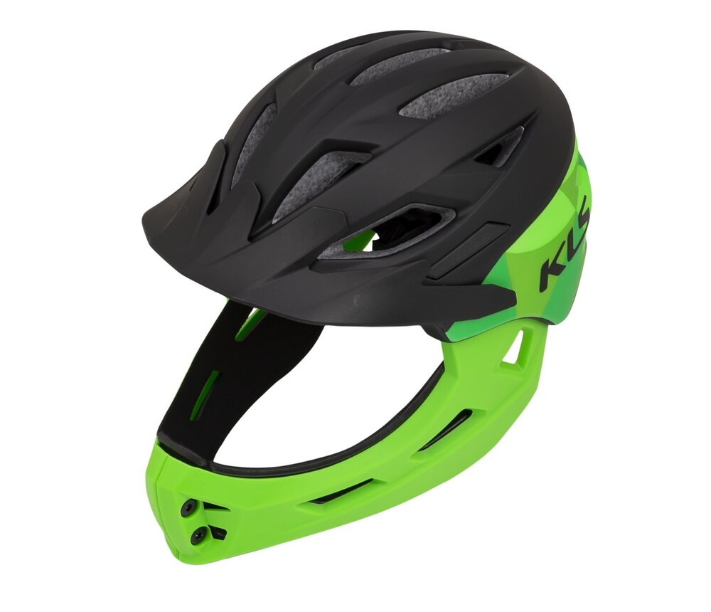 Helm SPROUT black-green XS